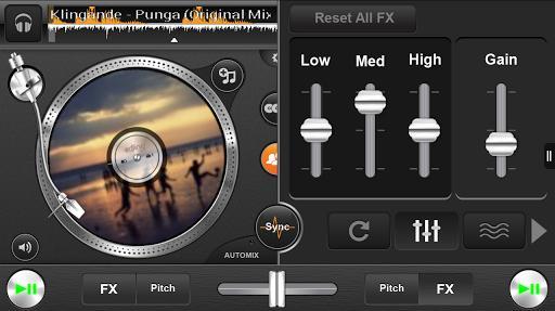 edjing free DJ mixer console - Imagem 1 do software