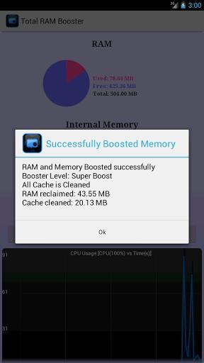 Total RAM Booster Free - Imagem 2 do software