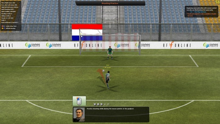 Real Soccer.