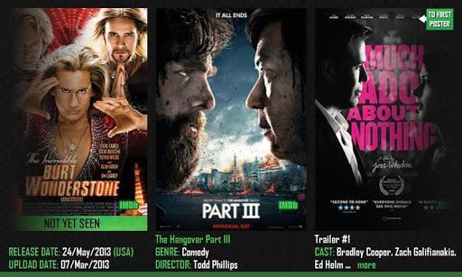 Actual Movie Trailers - Imagem 1 do software