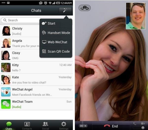 O WeChat é flexível e arrojado