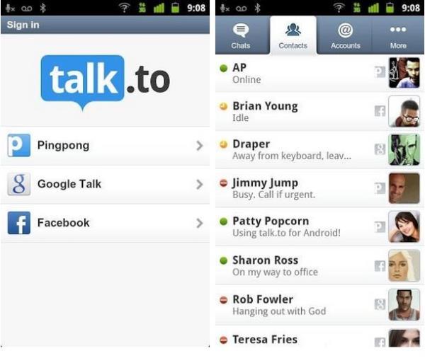 Talk.to também é uma ótima opção