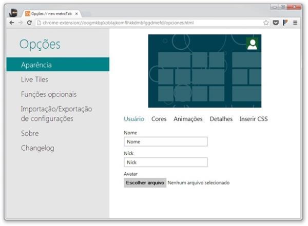 Google Chrome: como deixar a aba Nova Guia com a cara do Windows 8