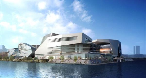 Complexo cultural de Songdo - quando for concluído