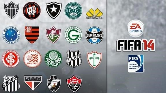 Pelo menos 19 times brasileiros estarão licenciados no FIFA 14 ... 1cbab826cc129