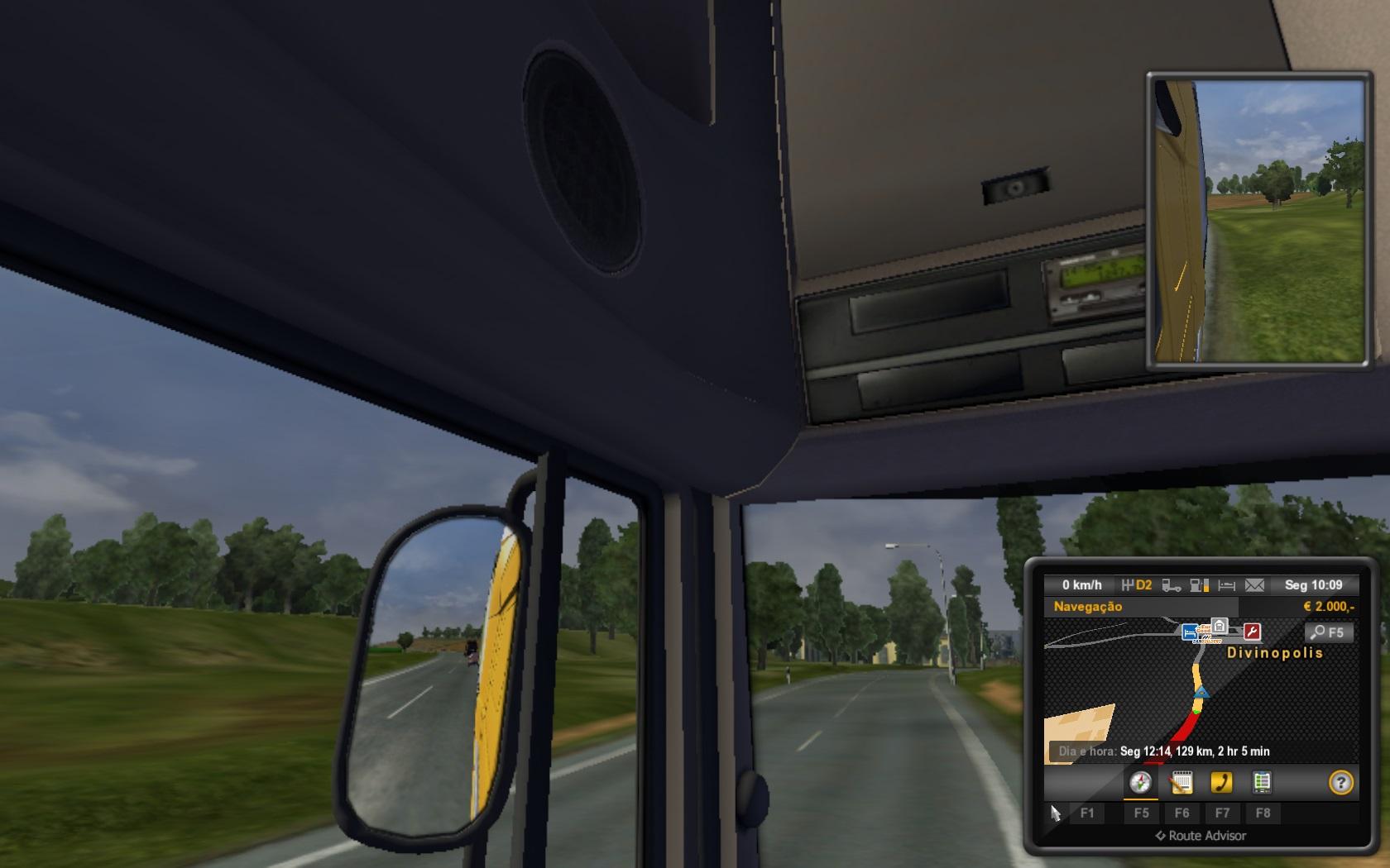 Euro Truck Simulator 2 - Cidades do Brasil Mod Download para