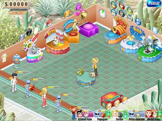 Pet Store Panic - Imagem 1 do software