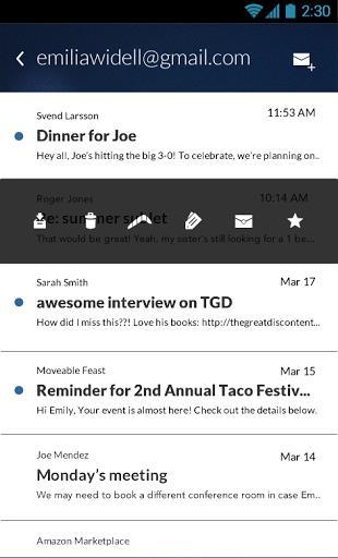 Email App for Gmail & Exchange - Imagem 2 do software