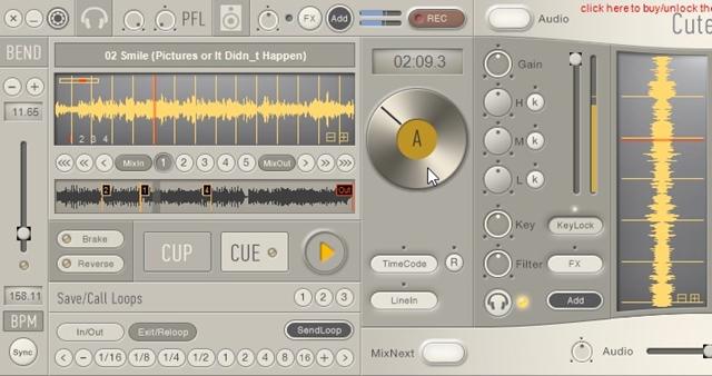 CuteDJ - Imagem 2 do software