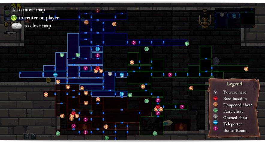 Rogue Legacy - Imagem 2 do software