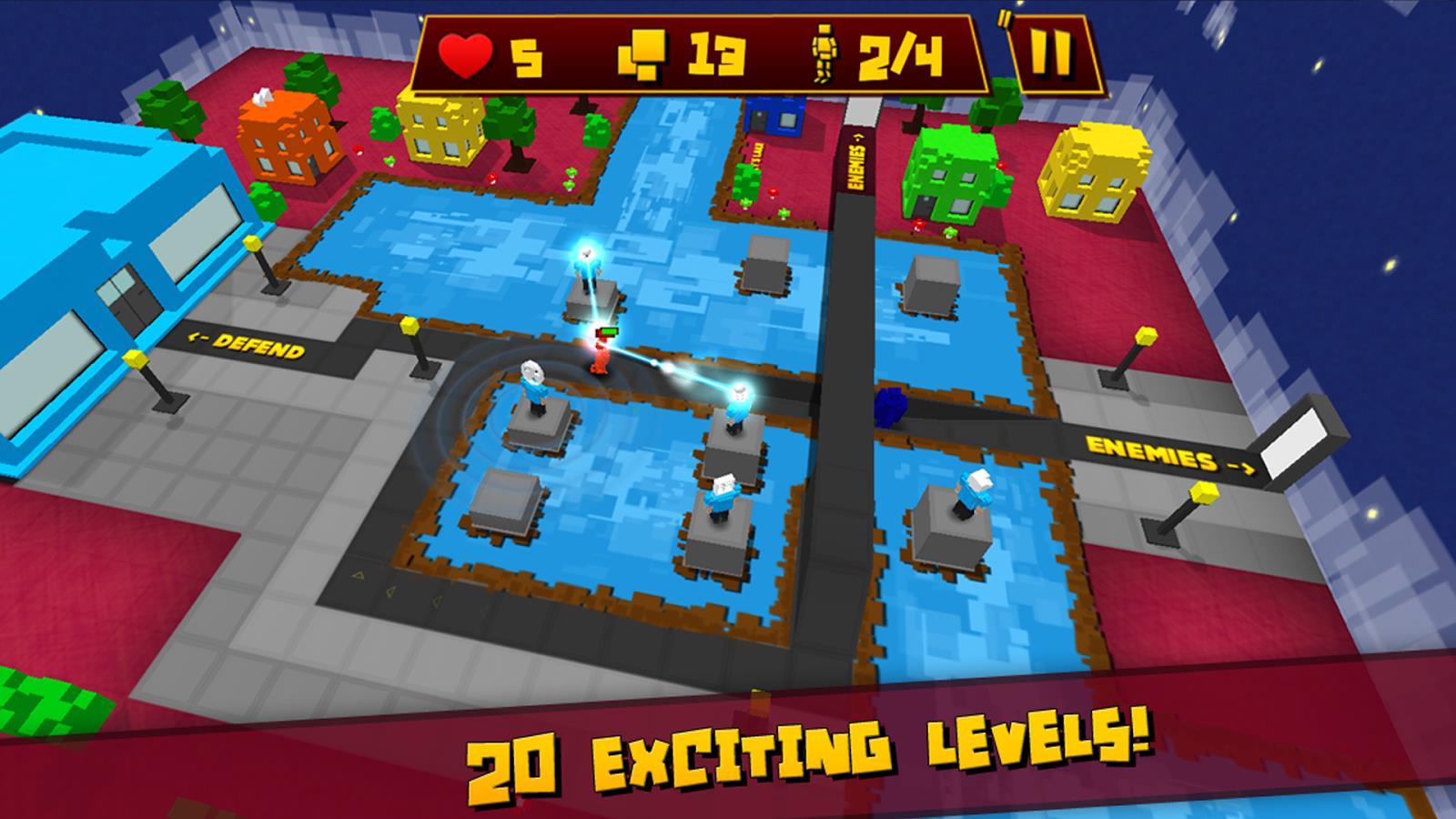 Block Defender: Tower Defense - Imagem 1 do software
