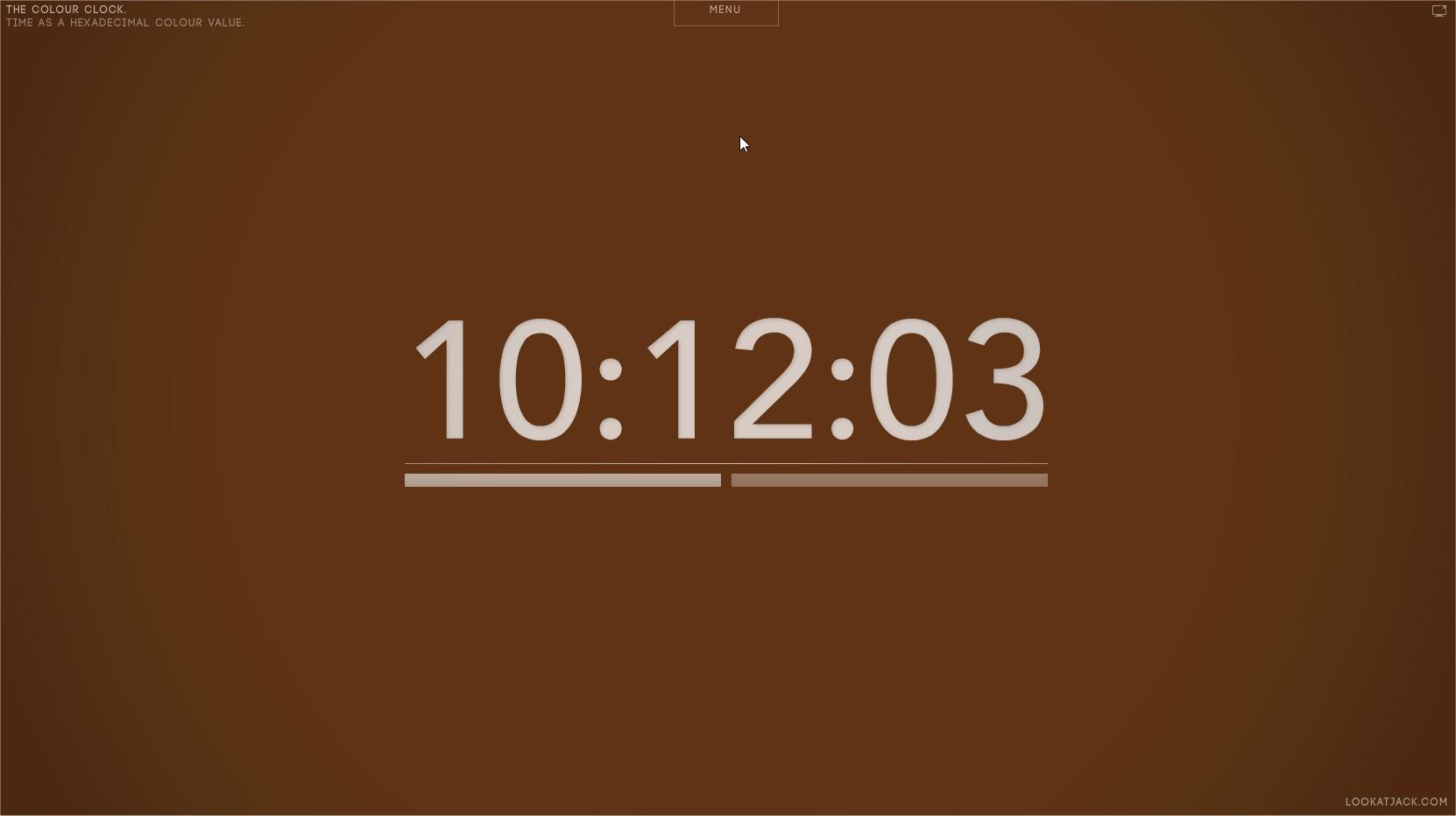 The Colour Clock - Imagem 1 do software