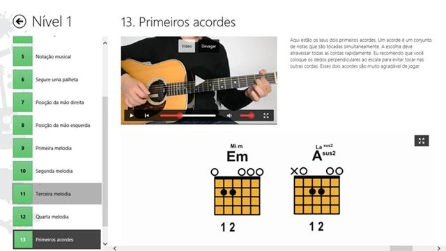 Aulas de guitarra Iniciantes - Imagem 1 do software