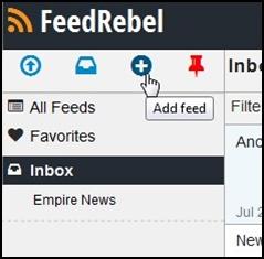 FeedRebel - Imagem 2 do software