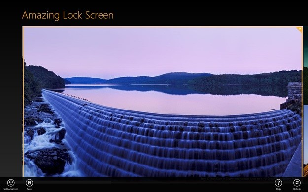 Amazing Lock Screen.