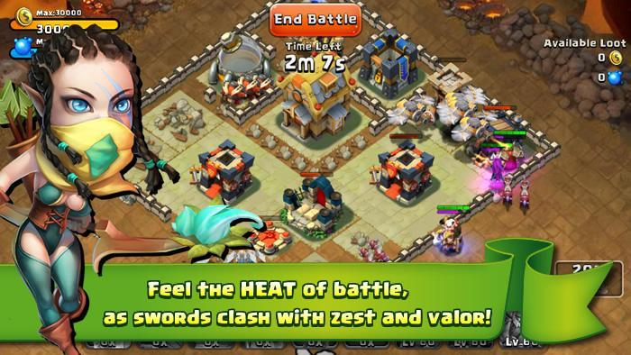 Castle Clash - Imagem 1 do software