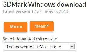 3DMark - Imagem 1 do software