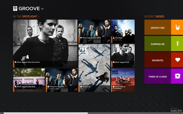 Groove: Smart Music Player.