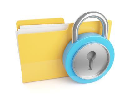 Proteja os seus arquivos