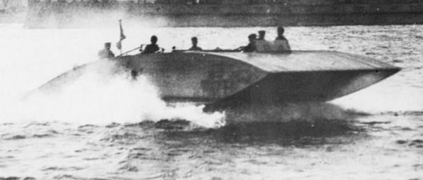 Versuchsgleitboot System Thomamühl