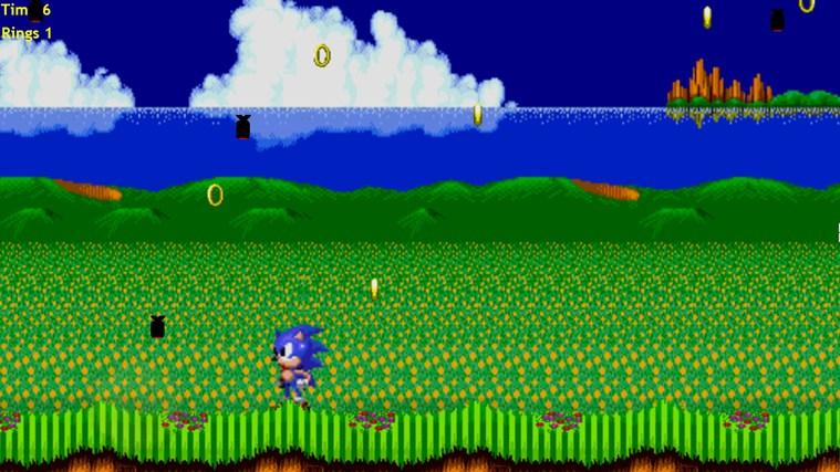 Sonics Ring Challenge - Bomb Dodger