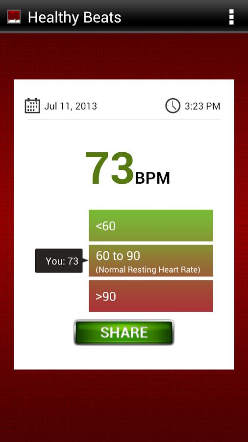 Healthy Beats - Heart Monitor - Imagem 2 do software
