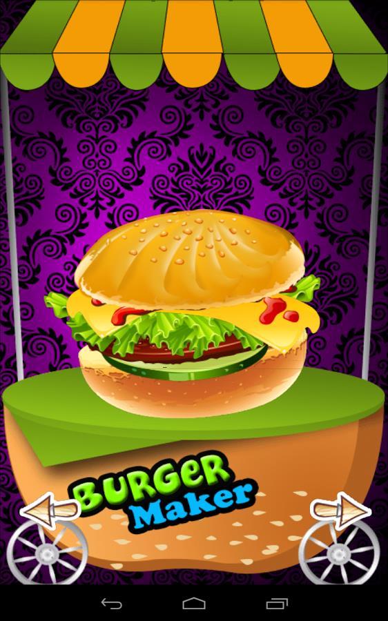 Burger Maker – Jogo de Cozinha - Imagem 1 do software