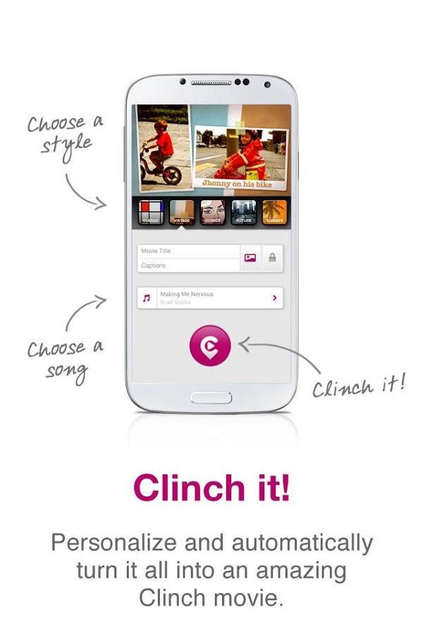 Clinch -Automatic Video Editor - Imagem 1 do software