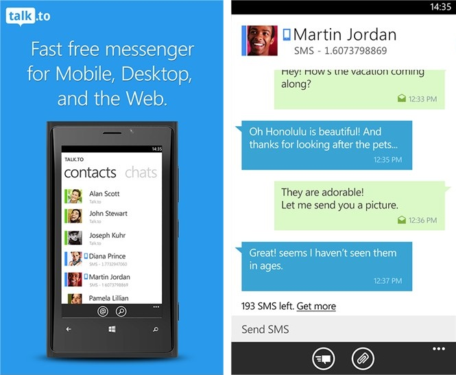 Talk.to Messenger - Imagem 1 do software