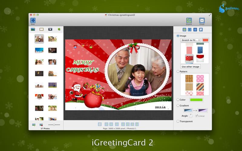 iGreetingCard - Imagem 1 do software