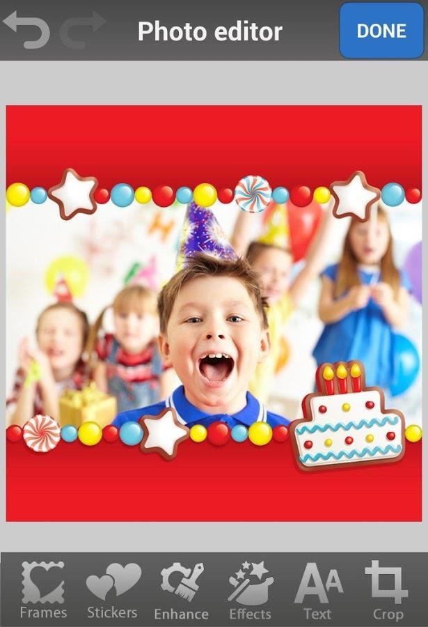 Birthday Photo Frames & Cards - Imagem 1 do software
