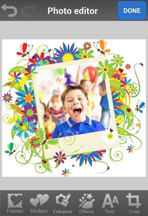 Birthday Photo Frames & Cards - Imagem 2 do software
