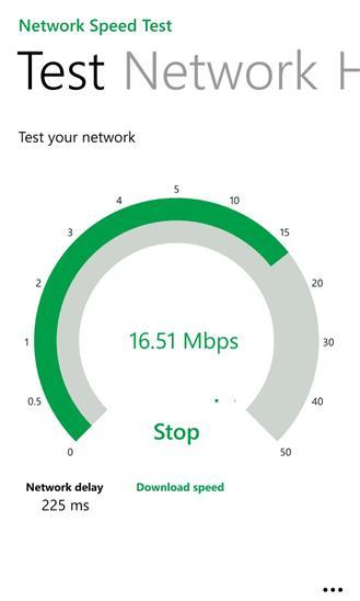 Network Speed Test - Imagem 1 do software