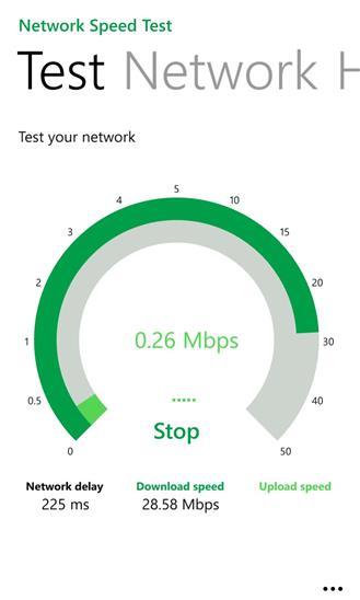 Network Speed Test - Imagem 2 do software