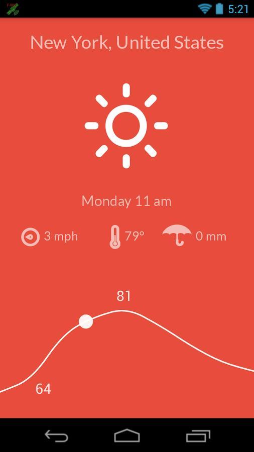 Nice Weather - Imagem 2 do software