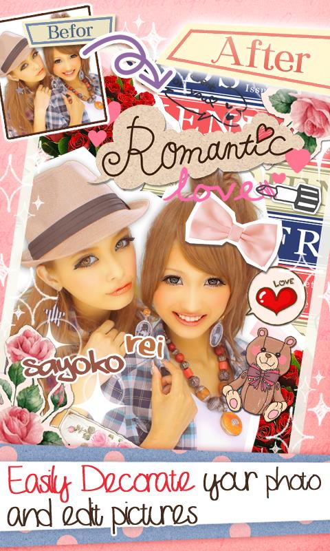 GirlsCamera:PhotoBooth Sticker - Imagem 2 do software