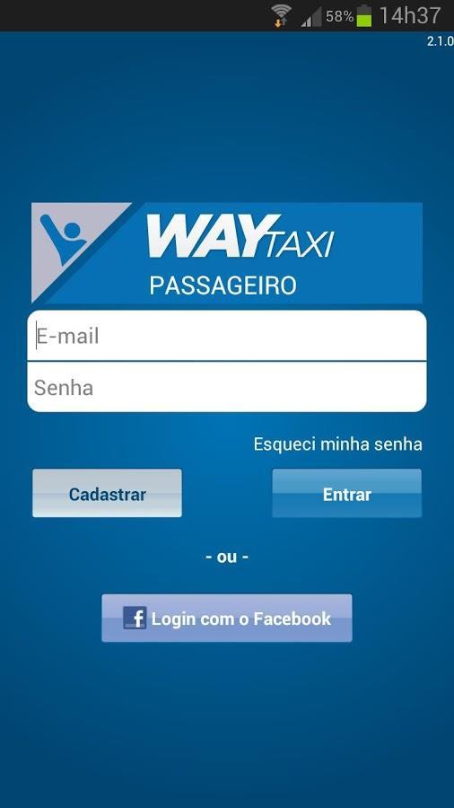 WayTaxi - Seu táxi online! - Imagem 1 do software
