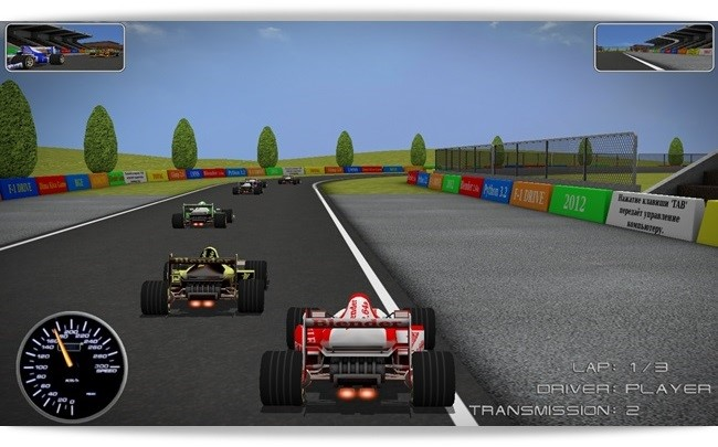 F1 Driver.