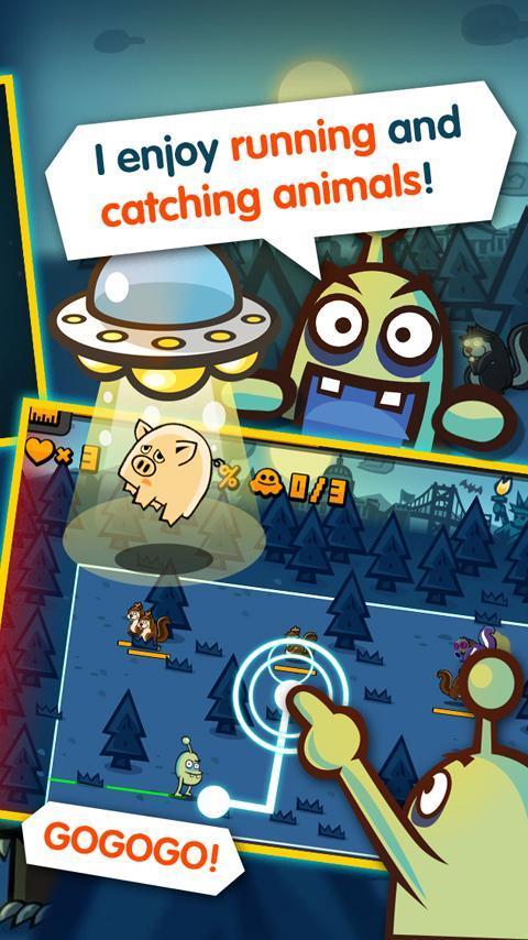 Go Alien, Go! - Imagem 1 do software