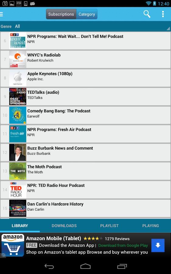 iPP Podcast Player - Imagem 1 do software