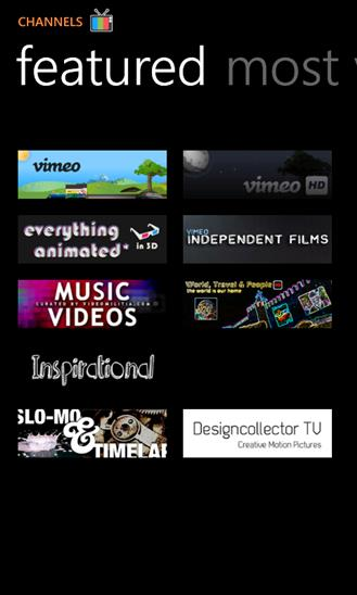 Vimeo - Imagem 3 do software