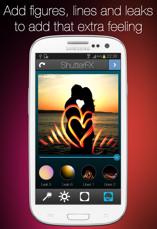 ShutterFX - Imagem 1 do software