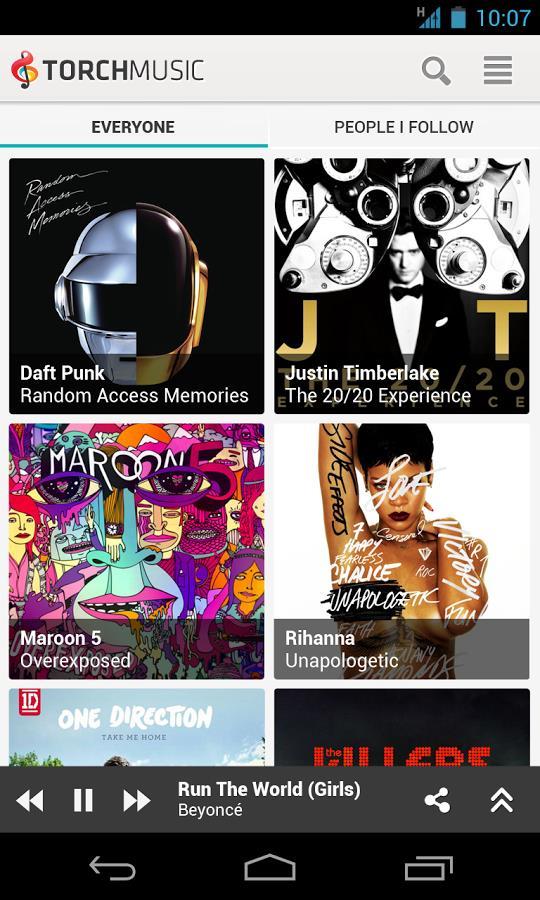 Torch Music (Beta) - Imagem 2 do software