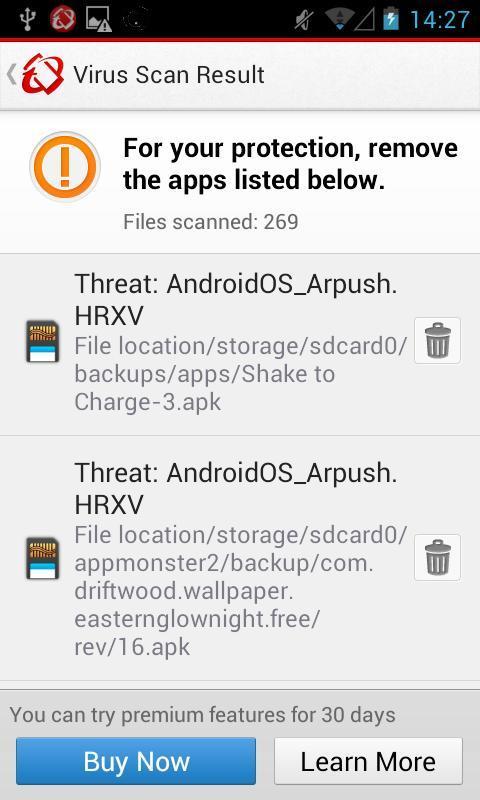 Mobile Security & Antivirus - Imagem 2 do software
