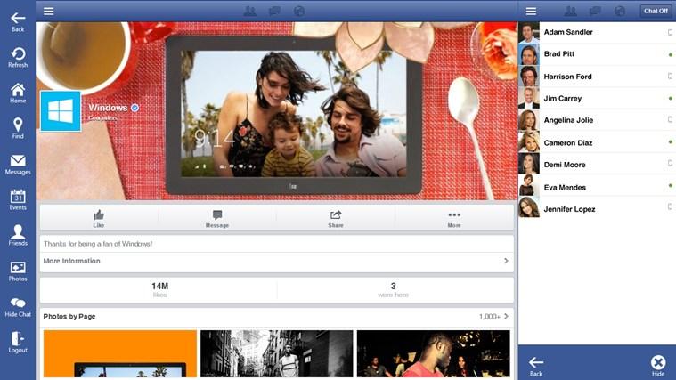 Facebook One.