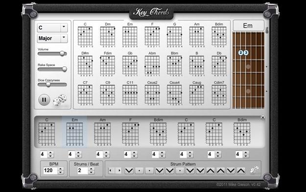 Key Chords.