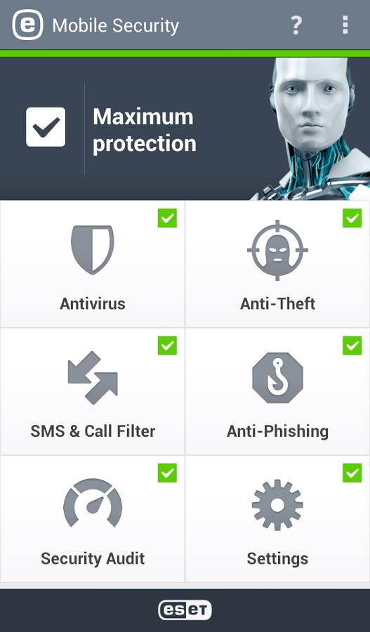Eset Mobile Security & Antivirus - Imagem 1 do software