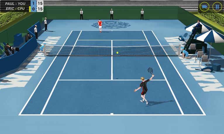 Flick Tennis - Imagem 1 do software