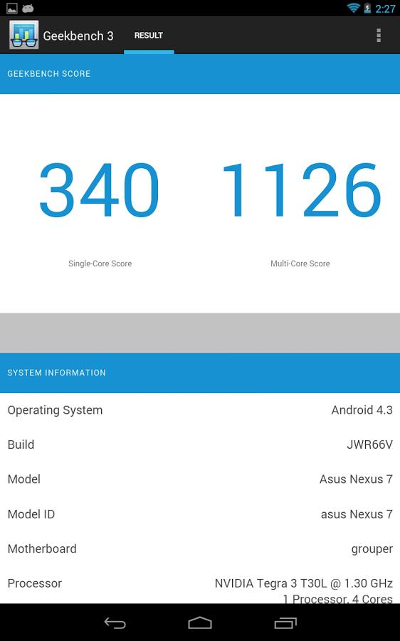 Geekbench 3 - Imagem 1 do software