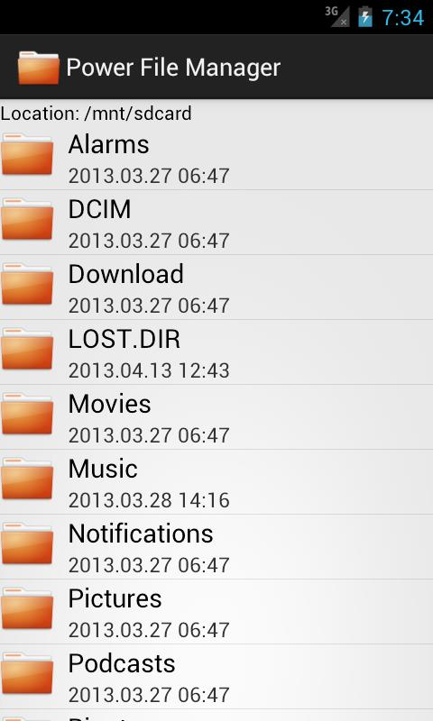 Power File Manager - Imagem 2 do software